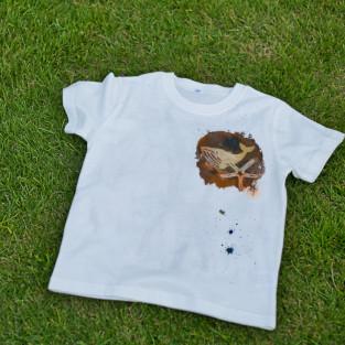 太陽染キッズTシャツ